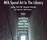 MFA Sound Art in the Library